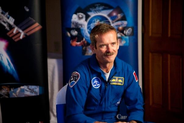 Interviewing Canadian Astronaut Chris Hadfield Cr. Melanie Godecki