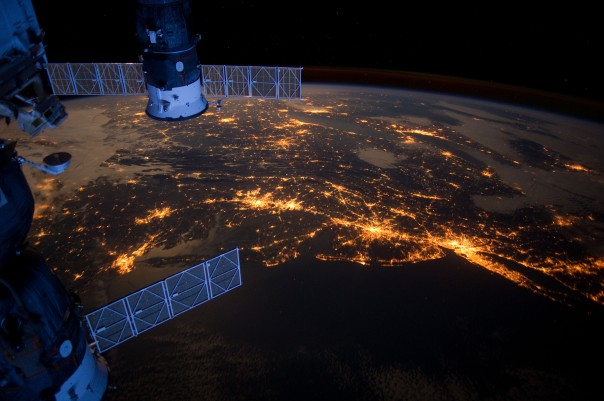 An Unrelated but Very Cool Picture from the ISS