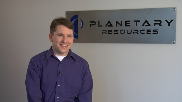 Chris Lewicki, President of Planetary Resources