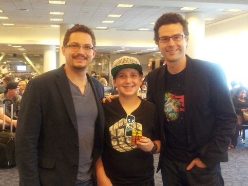 Jacob with Paul and Matthew