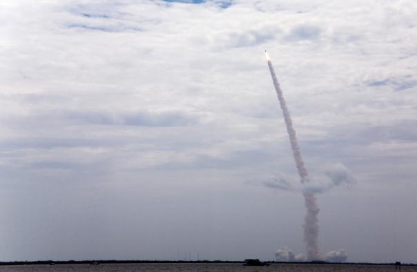 Final Launch of Shuttle Atlantis cr. Melanie Godecki
