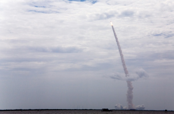 Final Launch of Shuttle Atlantis cr. Melanie Godecki