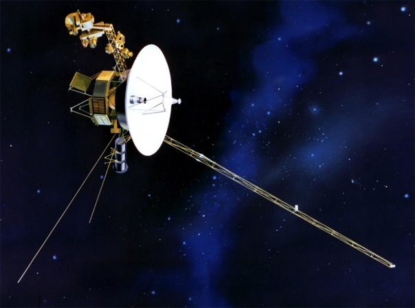 Artist Rendition of Voyager Probe cr Fobes