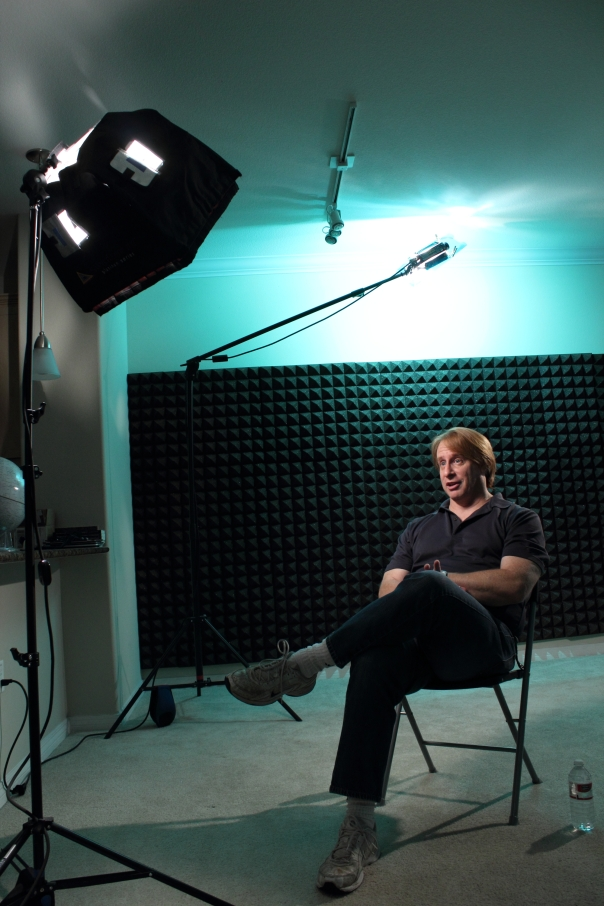 Kevin Grazier during Interview with Chasing Atlantis