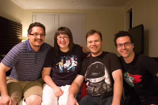 From Left to Right: Paul Muzzin, Cariann Higginbotham, Benjamin Higginbotham, Matthew Cimone