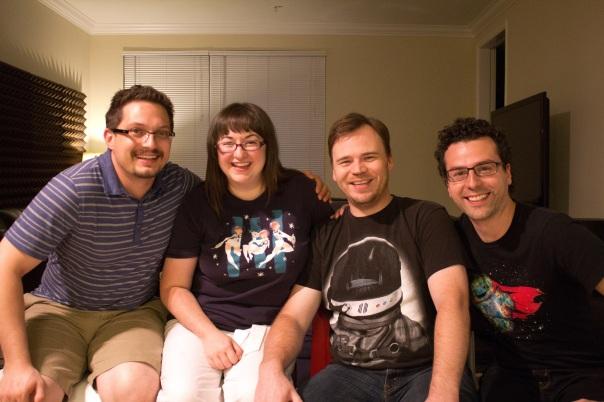 From Left to Right: Paul Muzzin, Cariann Higginbotham, Benjamin Higginbotham, Matthew Cimone