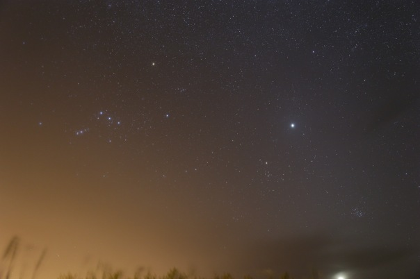 Constellation of Orion: Photo by Adam Evans (sky-candy.ca)