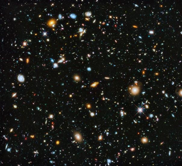 Hubble Ultra Deep Field Image