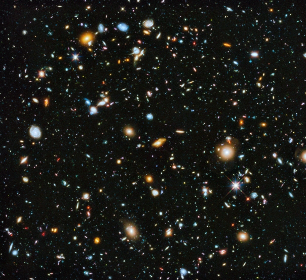 Hubble Ultra Deep Field Image