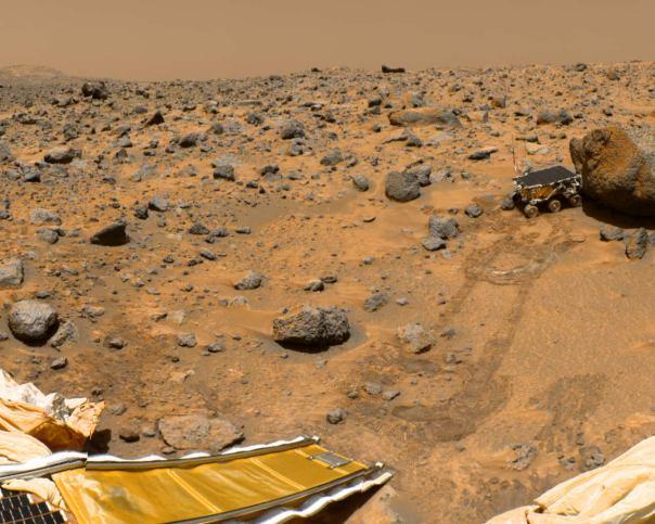Sojourner on Mars July 1997