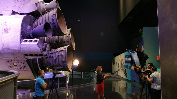 Interview with Andrea Farmer, Senior Public Relations Manager at KSC Visitor Center