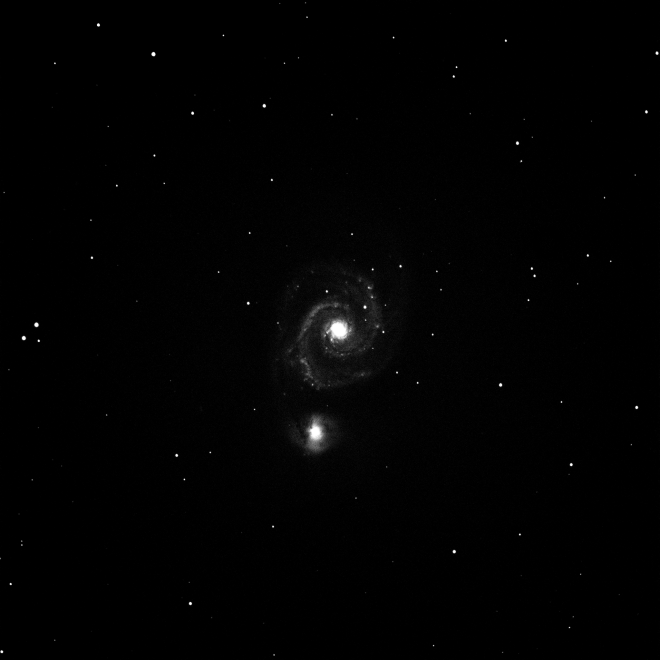 Whirlpool Galaxy Credit: Trottier Observatory, Simon Fraser University