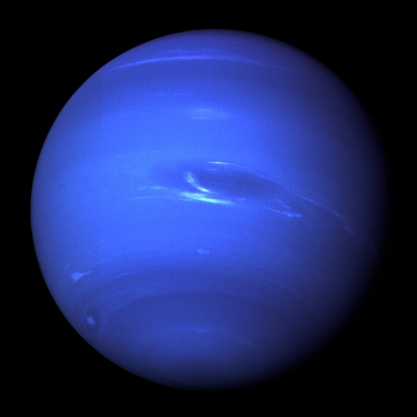 Neptune Shot by Voyager 2 in 1989